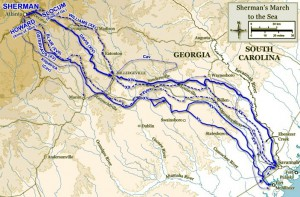 Howling Grounds and Scorched Earth: Following Sherman's March through Georgia and South Carolina