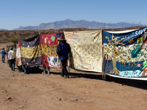 Tapestry with Huachuca Mountains Photo by Tom Leskiw