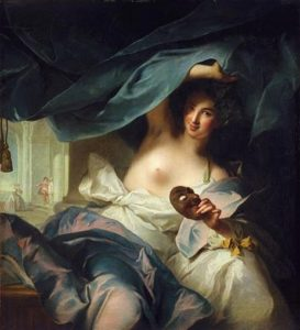 Muse de la Comédie by Jean-Marc Nattier, 1739
