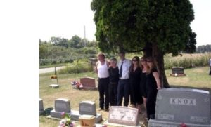 Sand Creek Cemetery 2009: Tonya's Funeral
